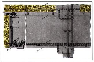 схема электроснабжения лавы