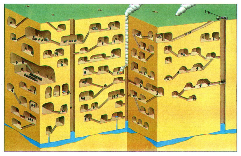 Строительство подземных