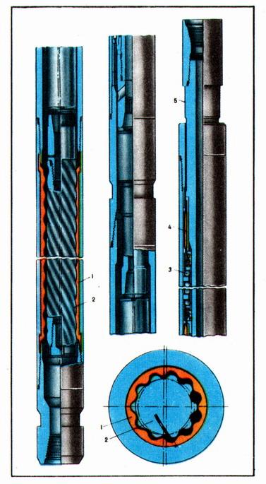 Винтовой забойный двигатель